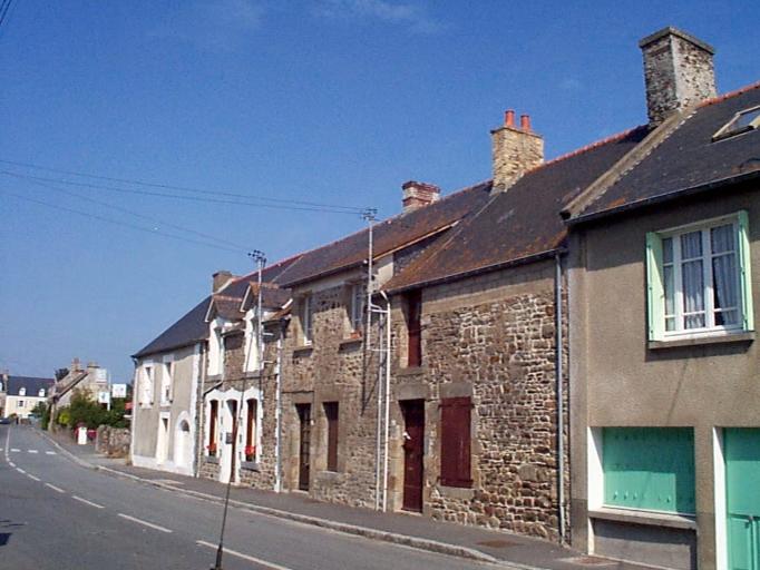 Maison, 42 rue de Dol (Le Vivier-sur-Mer) ; Maison, 38 rue de Dol (Le Vivier-sur-Mer)