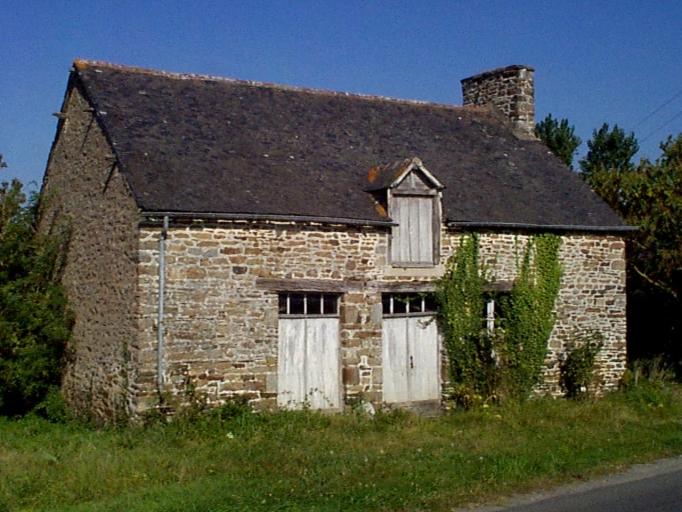 Ferme, près des Houittes (Roz-Landrieux)