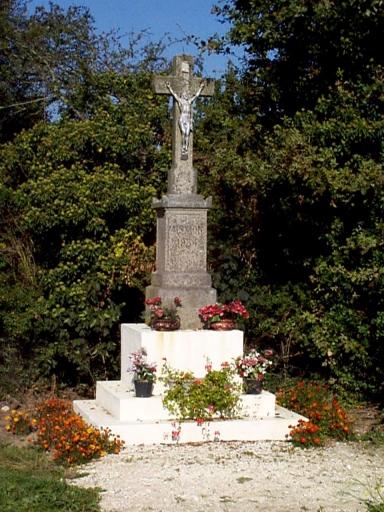 Croix de chemin, la Fontaine (Roz-Landrieux)
