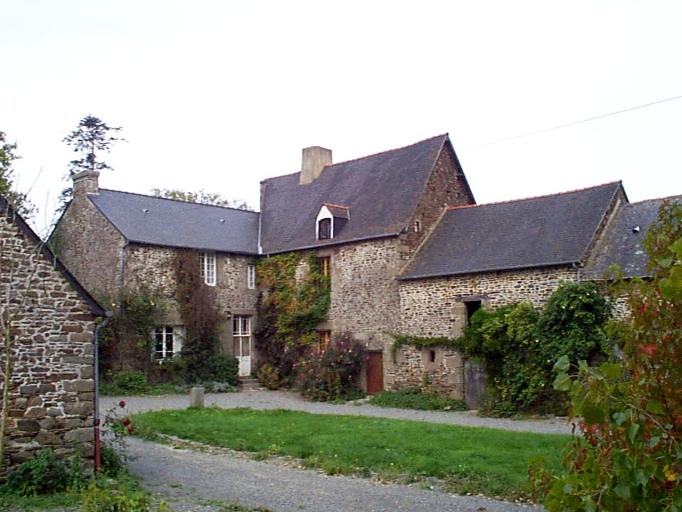 Manoir, la Cour ès Lasses (Roz-Landrieux)
