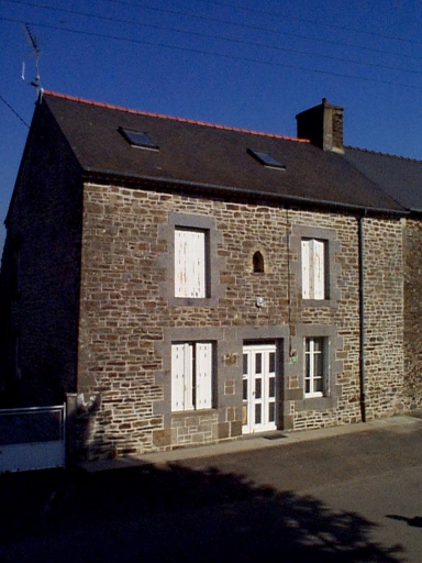 Maison, dite Evelyna, 4 rue des Demoiselles, Vildé Bidon (Roz-Landrieux)