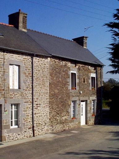 Maison, 2 rue des Demoiselles, Vildé Bidon (Roz-Landrieux)
