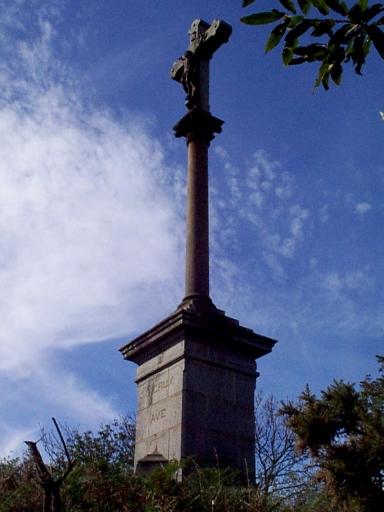 Croix monumentale, le Tertre (Mont-Dol)