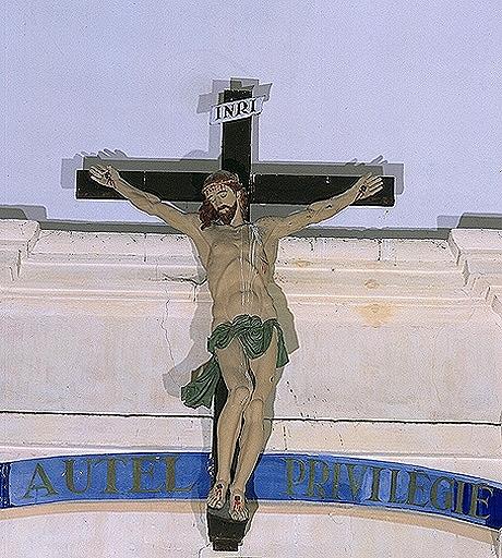 Croix 1 (grandeur nature): Christ en croix