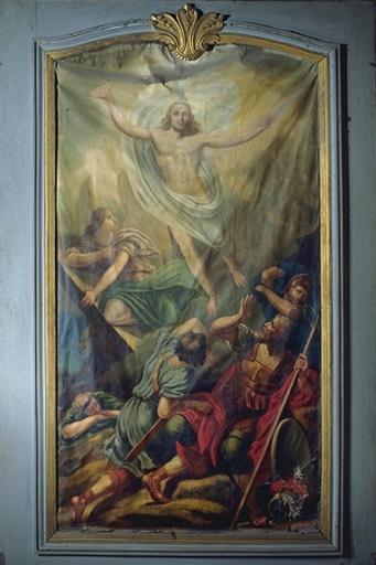 Tableau: Résurrection, cathédrale Saint-Samson (Dol-de-Bretagne)