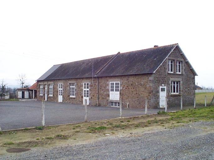 École primaire de garçons, Voie Communale n°16 de Baguer-Pican à Pont-Galou (Baguer-Pican) ; Les écoles, monuments et fontaines sur la commune de Baguer-Pican