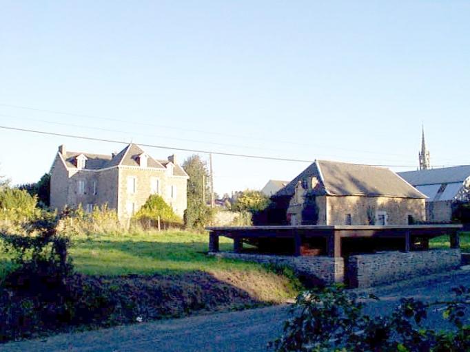 Presbytère, 4 rue du Presbytère (Epiniac)