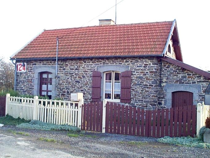 Maison de garde barrière n° 124, la Durantais (Epiniac)