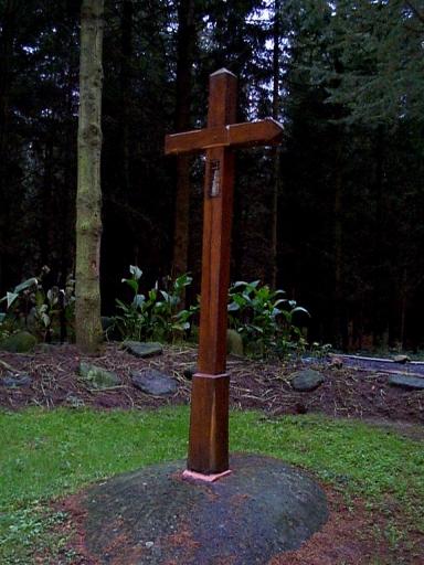 Croix de chemin, près de Grivais (Epiniac)