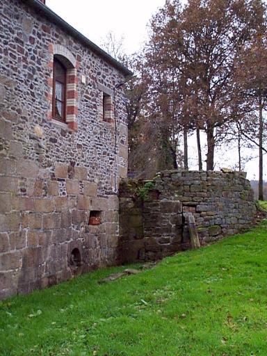 Moulin à eau, Moulin de la Lande (Epiniac) ; Les moulins et forges sur la commune d'Epiniac