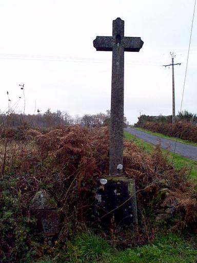 Croix de chemin, près de Foltière (Epiniac)