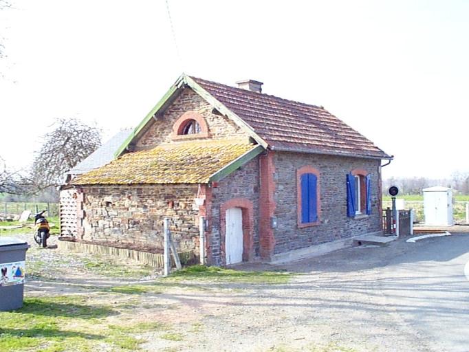 Maison de garde barrière n° 133, le Chêne (Dol-de-Bretagne)