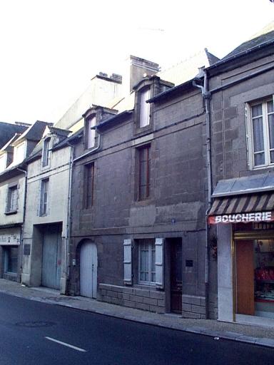 Maison, 8 rue des Ponts (Dol-de-Bretagne)