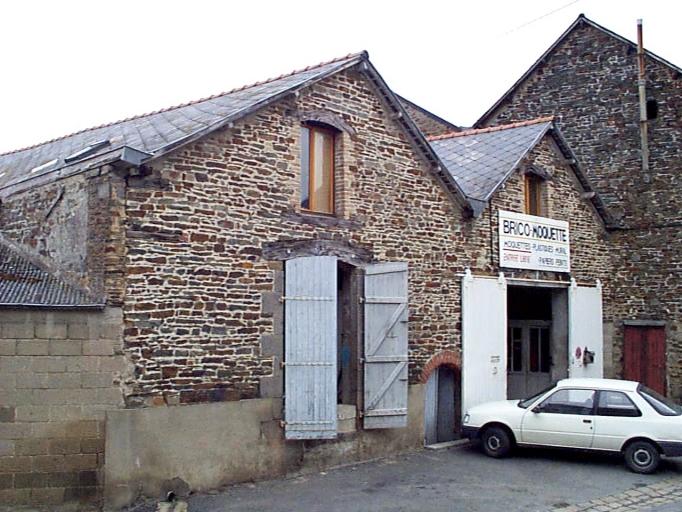 Coopérative agricole, actuellement entrepôt commercial, 4, 6 impasse des Bas-Celliers (Dol-de-Bretagne)