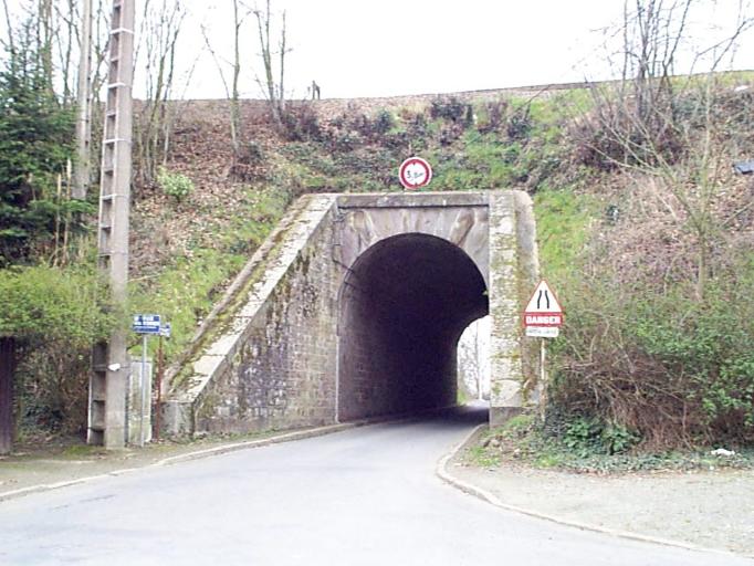 Pont de chemin de fer, Carfantin (Dol-de-Bretagne)