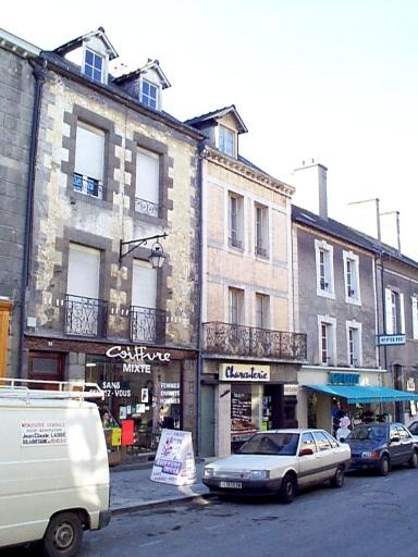 Maison, 39 rue Grande-Rue des Stuarts (Dol-de-Bretagne) ; Maison, 41 rue Grande-Rue des Stuarts (Dol-de-Bretagne)