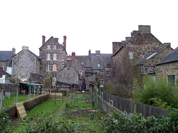 Quartier, dit Bourg Sainte-Marie (Dol-de-Bretagne) ; Les quartiers sur la commune de Dol-de-Bretagne