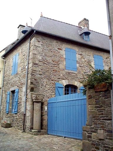 Maison, dite maison prébendale, 10 rue Ceinte (Dol-de-Bretagne)