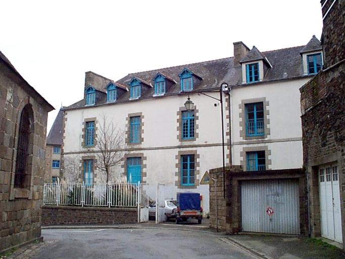 Maison, 1 rue du Chanoine Boursier (Dol-de-Bretagne)