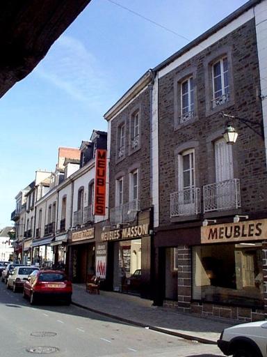 Immeuble, 36 rue Lejamptel (Dol-de-Bretagne)