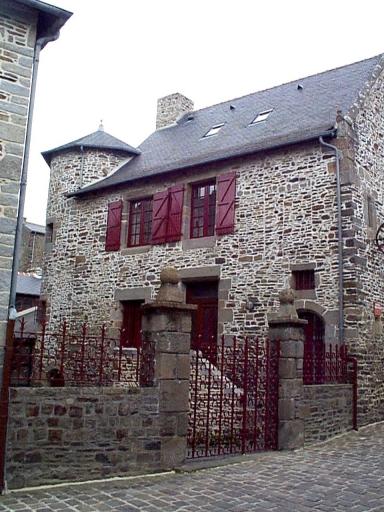 Hôtel, dit manoir du Grand Chantre, 20 rue Ceinte (Dol-de-Bretagne)