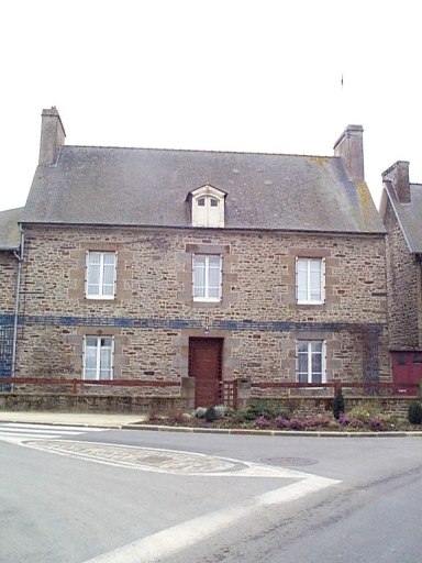 Maison, 63 rue de Dinan, l'Abbaye-sous-Dol (Dol-de-Bretagne)