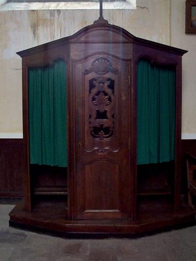 Ensemble de 2 confessionnaux