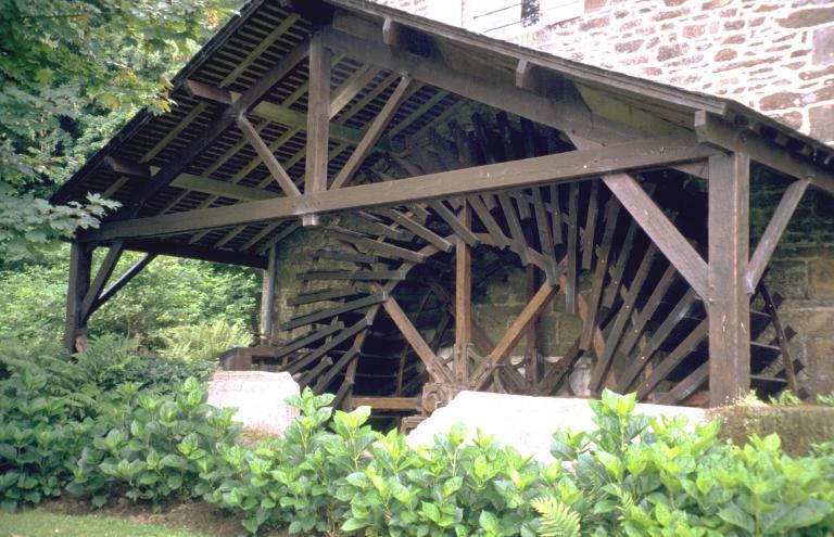 Moulin à blé Briand, puis minoterie, actuellement maison (Tremblay fusionnée en Val-Couesnon en 2019)