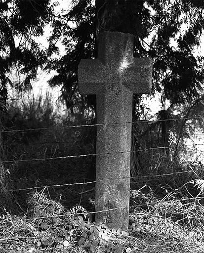 Croix de chemin, le Rocher aux Boeufs (Epiniac)