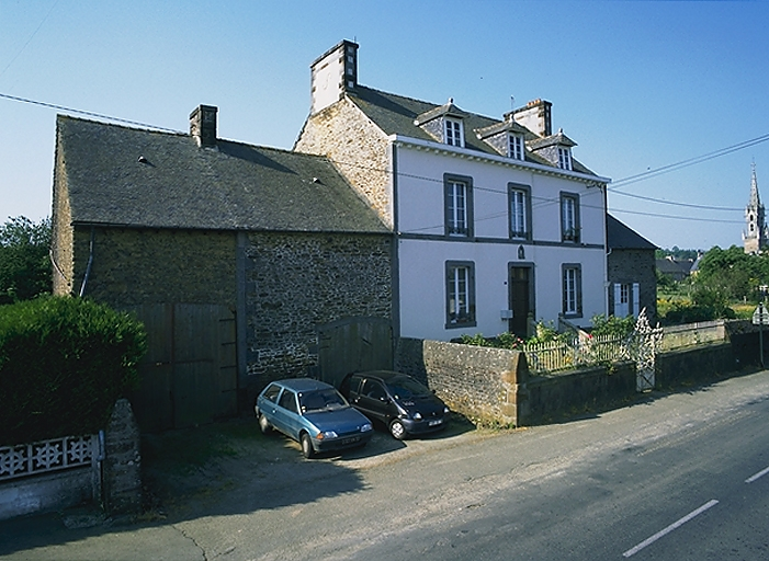 Maison de notable, 6 rue de Normandie (Epiniac)