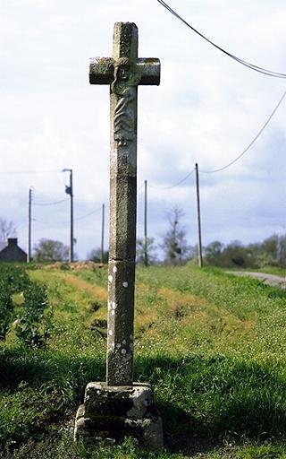 Croix de chemin, dite Croix de la Pimorais, près du Petit Mongu (Roz-Landrieux)