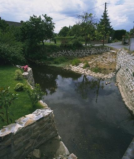 Lavoir; abreuvoir, le Haut Pont (Mont-Dol)