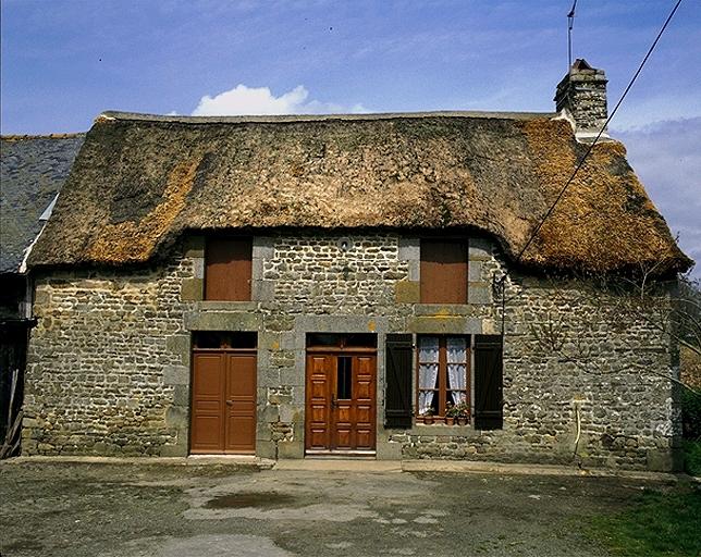 Présentation de la commune de Baguer-Morvan ; Ferme, la Saule (Baguer-Morvan)