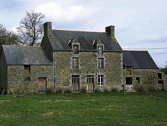 Présentation de la commune de Baguer-Morvan ; Ferme, la Nyaubry (Baguer-Morvan)