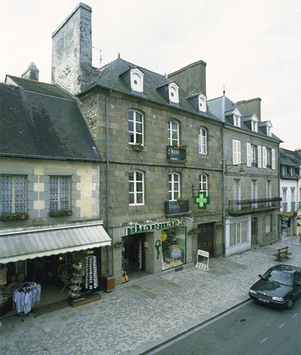 Immeuble, 22 rue Lejamptel (Dol-de-Bretagne) ; Immeuble, 24 rue Lejamptel (Dol-de-Bretagne)
