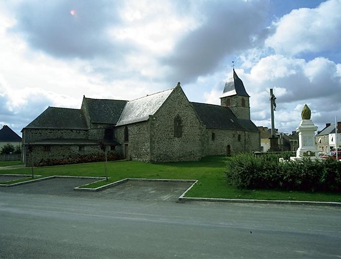 Église paroissiale Notre-Dame, place de l'Eglise (Cherrueix) ; Les églises, croix monumentales et croix de chemin sur la commune de Cherrueix