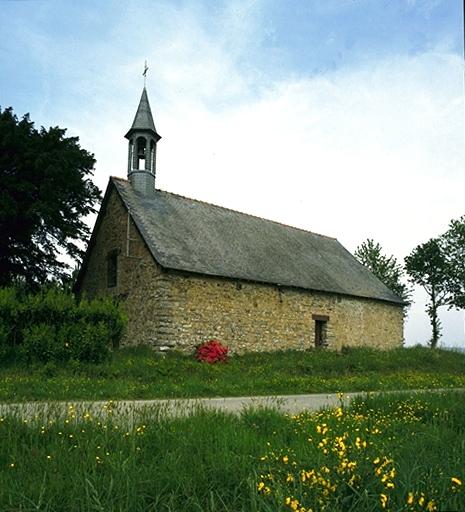 Chapelle Sainte-Reine-des-Domaines, la Chapelle des Domaines (Maure-de-Bretagne fusionnée en Val d'Anast en 2017)