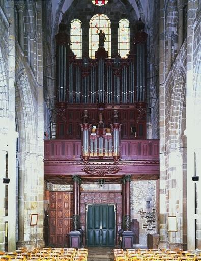 Orgue, buffet d'orgue (grand orgue)