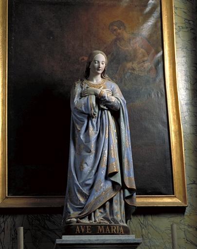 Statue: Vierge de l'Annonciation