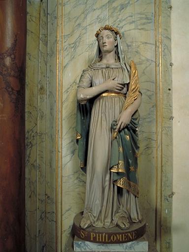 Statue: sainte Philomène
