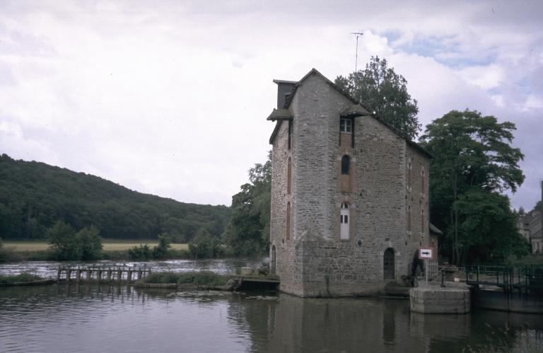 Moulin à blé, puis minoterie de la Bouëxière (Bourg-des-Comptes)