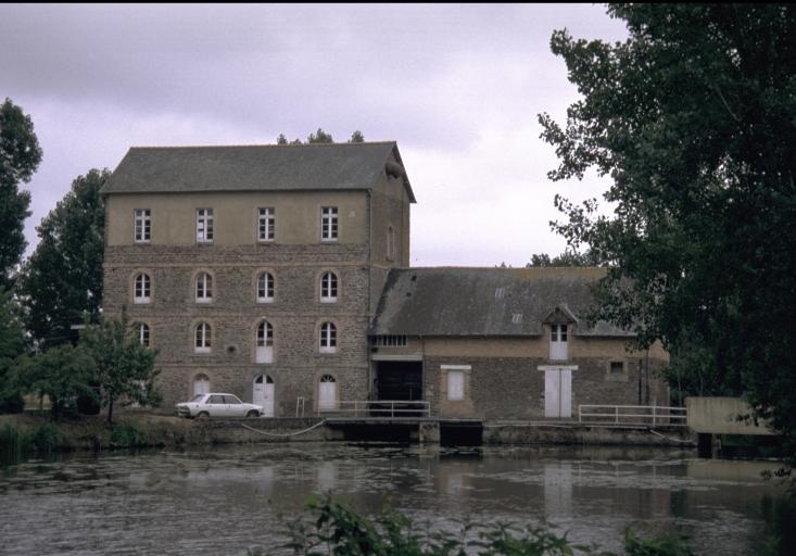 Moulin à farine de Mordelles, puis minoterie Hubert-Baudais et Cie (Mordelles)