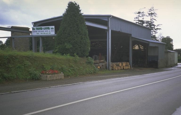 Scierie Troppée Jean, 9 rue Charles de Gaulle (Saint-Étienne-en-Coglès fusionnée en Maen Roch en 2017)