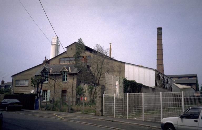 Cristallerie Fougeraise, puis Nouvelle Cristallerie Fougeraise, 17 rue du Chêne Vert (Fougères)