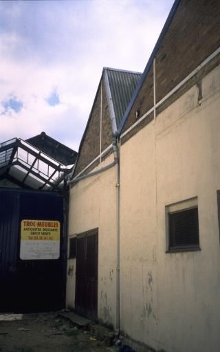 Usine de construction automobile Lepeltier, puis Imprimeries Publicitaires de Bretagne, actuellement atelier de reprographie Pivert, 7, 9, 11 rue de la Santé (Rennes)