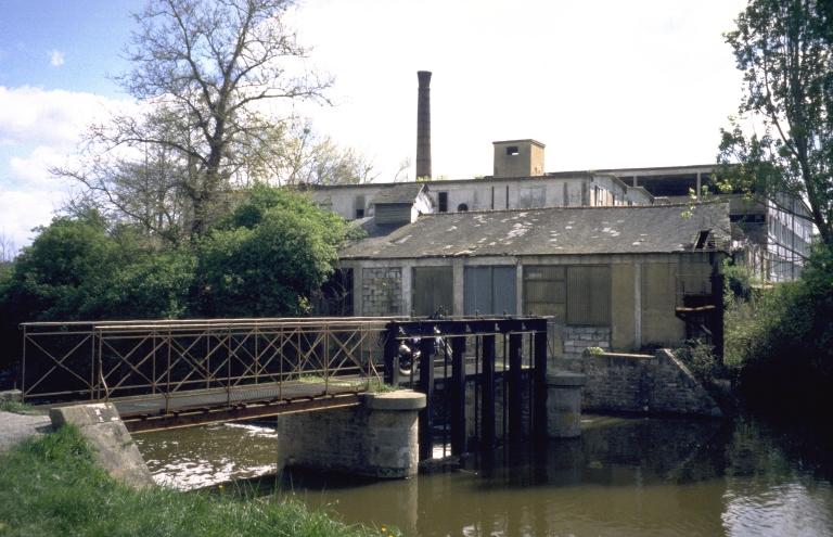 Moulin à blé de Trublet, puis tannerie dite manufacture de cuirs lissés Y et M Zwingelstein et Cie, puis société des Tanneries de France (Rennes)