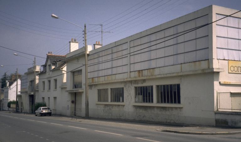 Fonderie et usine de construction mécanique et usine de petite métallurgie dite Fonderies et Ateliers de l'Ouest, puis Comia FAO, 27 boulevard de Châteaubriand (Vitré)