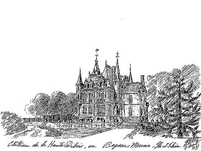 Château, la Haute Dibois (Baguer-Morvan)