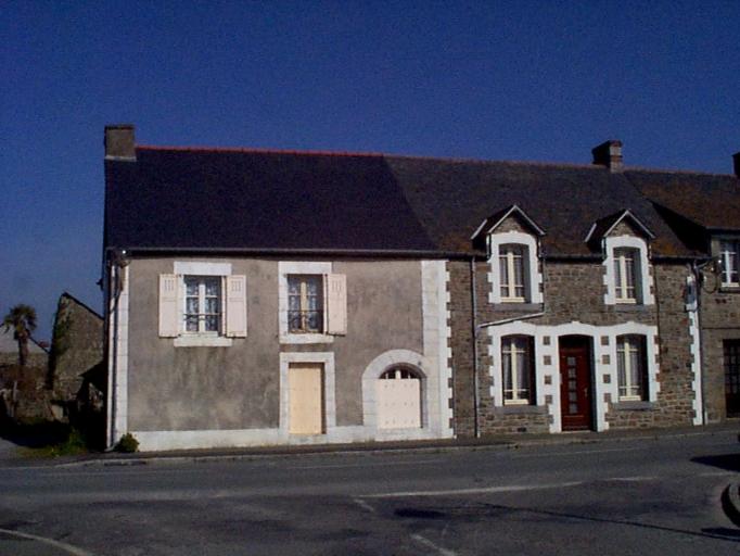 Rue de Dol (Le Vivier-sur-Mer) ; Le village et les rues sur la commune de Le Vivier-sur-Mer