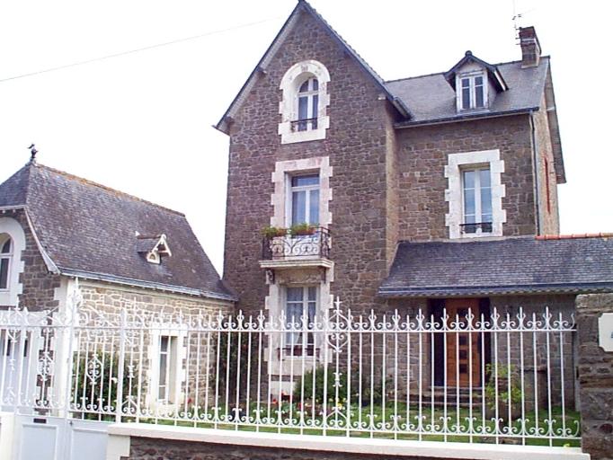 Maison de villégiature dite les Rochers, 3 rue Robert Surcouf (Cancale)